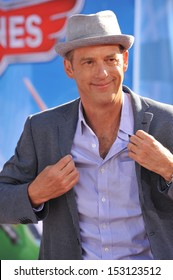 LOS ANGELES, CA - AUGUST 5, 2013: Anthony Edwards at the world premiere of his movie Disney's Planes at the El Capitan Theatre, Hollywood.