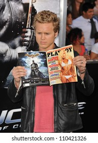"LOS ANGELES, CA - AUGUST 6, 2009: Spencer Pratt at the Los Angeles premiere of ""G.I. Joe: The Rise of Cobra"" at Grauman's Chinese Theatre, Hollywood."