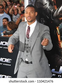 """LOS ANGELES, CA - AUGUST 6, 2009: Marlon Wayans at the Los Angeles premiere of his new movie """"G.I. Joe: The Rise of Cobra"""" at Grauman's Chinese Theatre, Hollywood."""