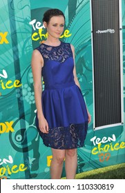 LOS ANGELES, CA - AUGUST 9, 2009: Alexis Bledel at the 2009 Teen Choice Awards at the Gibson Amphitheatre Universal City.