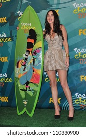 LOS ANGELES, CA - AUGUST 9, 2009: Megan Fox at the 2009 Teen Choice Awards at the Gibson Amphitheatre Universal City.