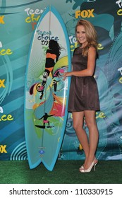 LOS ANGELES, CA - AUGUST 9, 2009: Emily Osment at the 2009 Teen Choice Awards at the Gibson Amphitheatre Universal City.