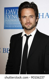 LOS ANGELES, CA - DEC 3: Justin Chatwin at the 3rd Annual 'Change Begins Within' Benefit Celebration presented by The David Lynch Foundation at LACMA on December 3, 2011 in Los Angeles, California