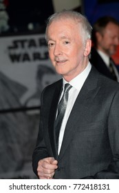 """LOS ANGELES, CA. December 09, 2017: Anthony Daniels at the world premiere for """"Star Wars: The Last Jedi"""" at The Shrine AuditoriumPicture: Jaguar"""