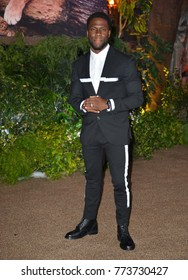 "LOS ANGELES, CA. December 11, 2017: Kevin Hart at the Los Angeles premiere of ""Jumanji: Welcome To the Jungle"" at the TCL Chinese Theatre, Hollywood"