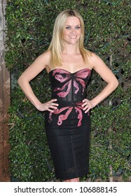 """LOS ANGELES, CA - DECEMBER 13, 2010: Reese Witherspoon at the world premiere of her new movie """"How Do You Know"""" at the Mann Village Theatre, Westwood. December 13, 2010  Los Angeles, CA"""
