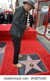 LOS ANGELES, CA - DECEMBER 21, 2015: Actor Samuel L. Jackson at Tarantino's Hollywood Walk of Fame star ceremony