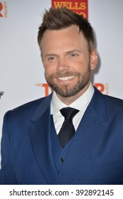 LOS ANGELES, CA - DECEMBER 6, 2015: Actor Joel McHale at the 2015 TrevorLIVE Los Angeles Gala at the Hollywood Palladium.