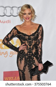 LOS ANGELES, CA - DECEMBER 8, 2013: Dancer Peta Murgatroyd at the 15th Anniversary TrevorLIVE gala to benefit the Trevor Project at the Hollywood Palladium.