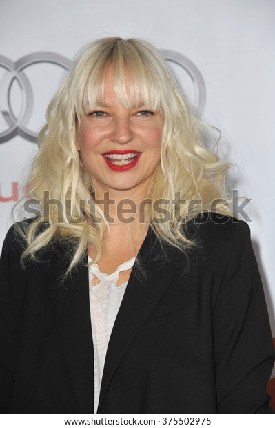 LOS ANGELES, CA - DECEMBER 8, 2013: Australian singer Sia Furler at the 15th Anniversary TrevorLIVE gala to benefit the Trevor Project at the Hollywood Palladium.