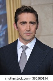 "LOS ANGELES, CA - DECEMBER 9, 2014: Lee Pace at the Los Angeles premiere of his movie ""The Hobbit: The Battle of the Five Armies"" at the Dolby Theatre, Hollywood."