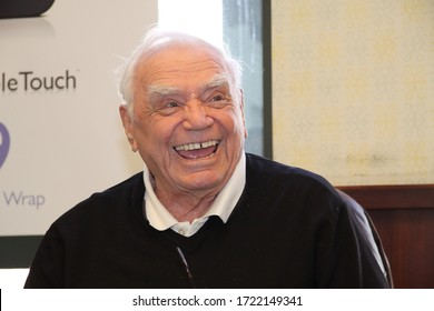 LOS ANGELES, CA - FEB. 11, 2012: Ernest Borgnine sighting on February 11, 2012 at the Grove in Los Angeles, CA.