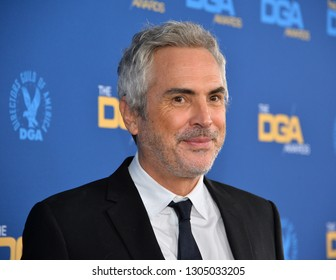 LOS ANGELES, CA. February 02, 2019: Alfonso Cuaron at the 71st Annual Directors Guild of America Awards at the Ray Dolby Ballroom.