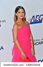 LOS ANGELES, CA. February 08, 2019: Maren Morris at the 2019 MusiCares Person of the Year Gala honoring Dolly Parton at the Los Angeles Convention Centre.