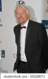 LOS ANGELES, CA - FEBRUARY 11, 2012: Sir Richard Branson at the 2012 Clive Davis Pre-Grammy Party at the Beverly Hilton Hotel, Beverly Hills. February 11, 2012  Los Angeles, CA
