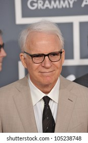 LOS ANGELES, CA - FEBRUARY 12, 2012: Steve Martin at the 54th Annual Grammy Awards at the Staples Centre, Los Angeles. February 12, 2012  Los Angeles, CA