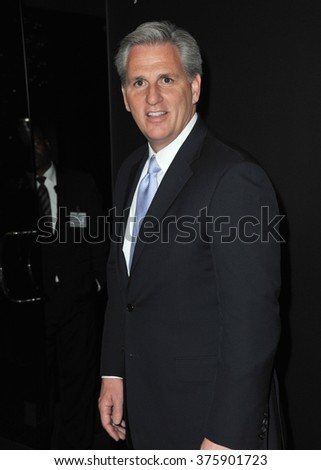 "LOS ANGELES, CA - FEBRUARY 13, 2014: Congressman Kevin McCarthy, majority whip of the US House of Representatives, at the season two premiere of Netflix series ""House of Cards""."