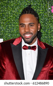 "LOS ANGELES, CA. February 16, 2017: Singer Jason Derulo at the arrivals for ""An Unforgettable Evening"", to benefit the Women's Cancer Research Fund, at The Beverly Wilshire Hotel. Beverly Hills."