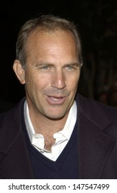 LOS ANGELES, CA - FEBRUARY 18, 2002: Actor KEVIN COSTNER at the Los Angeles premiere of his new movie Dragonfly.