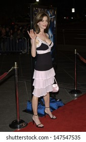 LOS ANGELES, CA - FEBRUARY 18, 2002: Actress SHAUNE BAGWELL at the Los Angeles premiere of Dragonfly.