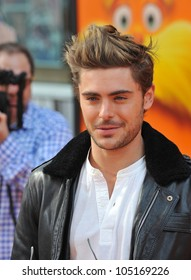 "LOS ANGELES, CA - FEBRUARY 19, 2012: Zac Efron at the world premiere of his new animated movie ""Dr. Suess' The Lorax"" at Universal Studios, Hollywood. February 19, 2012  Los Angeles, CA"