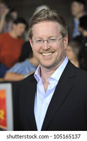 """LOS ANGELES, CA - FEBRUARY 22, 2012: Director/writer Andrew Stanton at the world premiere of his new movie """"John Carter"""" at the Regal Cinemas L.A. Live. February 22, 2012  Los Angeles, CA"""