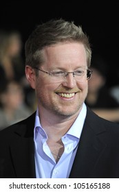 "LOS ANGELES, CA - FEBRUARY 22, 2012: Director/writer Andrew Stanton at the world premiere of his new movie ""John Carter"" at the Regal Cinemas L.A. Live. February 22, 2012  Los Angeles, CA"