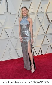 LOS ANGELES, CA. February 24, 2019: Brie Larson at the 91st Academy Awards at the Dolby Theatre.Picture: Paul Smith/Featureflash