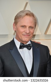 LOS ANGELES, CA. February 24, 2019: Viggo Mortensen at the 91st Academy Awards at the Dolby Theatre.Picture: Paul Smith/Featureflash