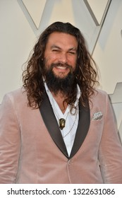 LOS ANGELES, CA. February 24, 2019: Jason Momoa  at the 91st Academy Awards at the Dolby Theatre.Picture: Paul Smith/Featureflash