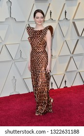 LOS ANGELES, CA. February 24, 2019: Emma Stone at the 91st Academy Awards at the Dolby Theatre.Picture: Paul Smith/Featureflash