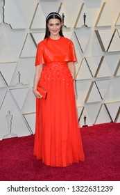 LOS ANGELES, CA. February 24, 2019: Rachel Weisz at the 91st Academy Awards at the Dolby Theatre.Picture: Paul Smith/Featureflash