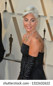 LOS ANGELES, CA. February 24, 2019: Lady Gaga at the 91st Academy Awards at the Dolby Theatre.Picture: Paul Smith/Featureflash
