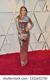 LOS ANGELES, CA. February 24, 2019: Jennifer Lopez at the 91st Academy Awards at the Dolby Theatre.Picture: Paul Smith/Featureflash