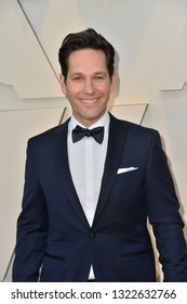 LOS ANGELES, CA. February 24, 2019: Paul Rudd at the 91st Academy Awards at the Dolby Theatre.Picture: Paul Smith/Featureflash