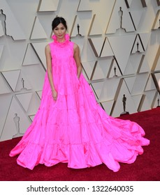 LOS ANGELES, CA. February 24, 2019: Gemma Chan at the 91st Academy Awards at the Dolby Theatre.Picture: Paul Smith/Featureflash