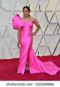 LOS ANGELES, CA. February 24, 2019: Angela Bassett  at the 91st Academy Awards at the Dolby Theatre.Picture: Paul Smith/Featureflash