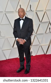 LOS ANGELES, CA. February 24, 2019: Congressman John Lewis at the 91st Academy Awards at the Dolby Theatre.Picture: Paul Smith/Featureflash