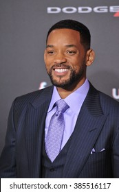 """LOS ANGELES, CA - FEBRUARY 24, 2015: Will Smith at the Los Angeles premiere of his movie """"Focus"""" at the TCL Chinese Theatre, Hollywood."""