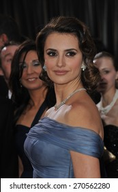 LOS ANGELES, CA - FEBRUARY 26, 2012: Penelope Cruz at the 84th Annual Academy Awards at the Hollywood & Highland Theatre, Hollywood.