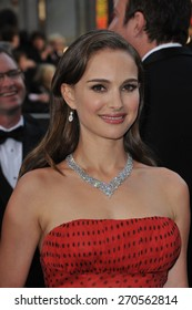 LOS ANGELES, CA - FEBRUARY 26, 2012: Natalie Portman at the 84th Annual Academy Awards at the Hollywood & Highland Theatre, Hollywood.
