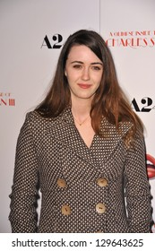 "LOS ANGELES, CA - FEBRUARY 4, 2013: Madeline Zima at the Los Angeles premiere of ""A Glimpse Inside the Mind of Charles Swan III"" at the Arclight Theatre, Hollywood."