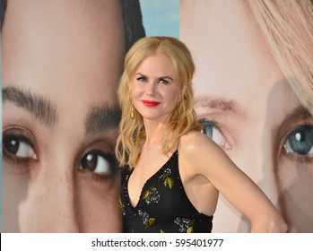 "LOS ANGELES, CA. February 7, 2017: Actress Nicole Kidman at the premiere for HBO's ""Big Little Lies"" at the TCL Chinese Theatre, Hollywood."