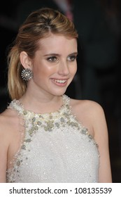 """LOS ANGELES, CA - FEBRUARY 8, 2010: Emma Roberts at the world premiere of her new movie """"Valentine's Day"""" at Grauman's Chinese Theatre, Hollywood."""