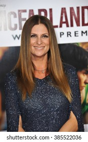 """LOS ANGELES, CA - FEBRUARY 9, 2015: Director Niki Caro at the world premiere of her movie """"McFarland USA"""" at the El Capitan Theatre, Hollywood."""