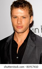 LOS ANGELES, CA - JAN 28: Ryan Phillippe at Calvin Klein Collection & Los Angeles Nomadic Division 1st Annual Celebration on January 28, 2010 in Los Angeles, California