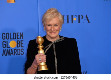 LOS ANGELES, CA. January 06, 2019: Glenn Close at the 2019 Golden Globe Awards at the Beverly Hilton Hotel.
