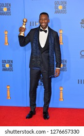 LOS ANGELES, CA. January 06, 2019: Mahershala Ali at the 2019 Golden Globe Awards at the Beverly Hilton Hotel.