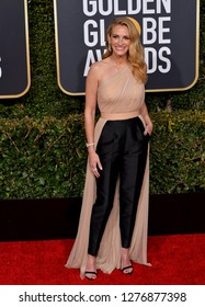LOS ANGELES, CA. January 06, 2019: Julia Roberts at the 2019 Golden Globe Awards at the Beverly Hilton Hotel.
