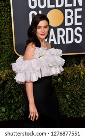 LOS ANGELES, CA. January 06, 2019: Rachel Weisz  at the 2019 Golden Globe Awards at the Beverly Hilton Hotel.